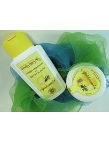Șampon și mască regenerantă cu lăptișor de matcă